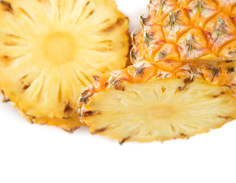 skivat moget för ananas fotografering för bildbyråer