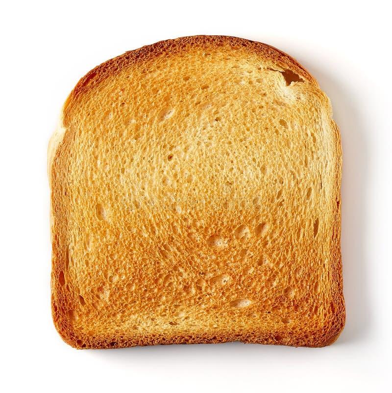 Skivat rostat brödbröd royaltyfria bilder