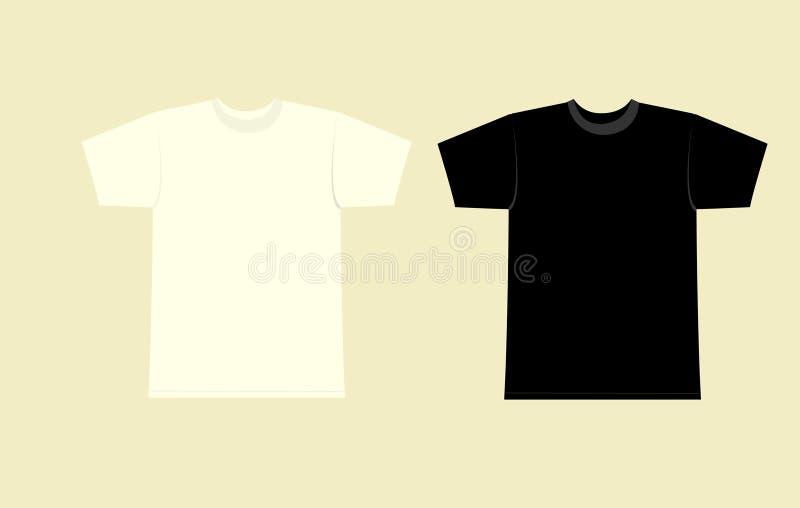 skjorta t royaltyfri illustrationer