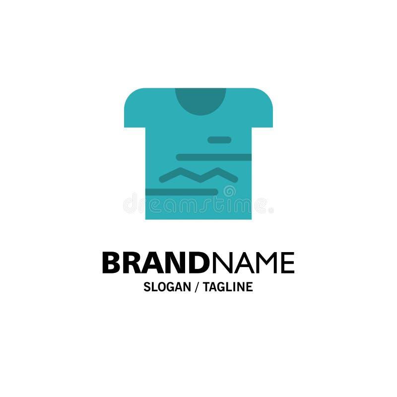 Skjorta Tshirt, torkduk, enhetlig affär Logo Template plan f?rg vektor illustrationer