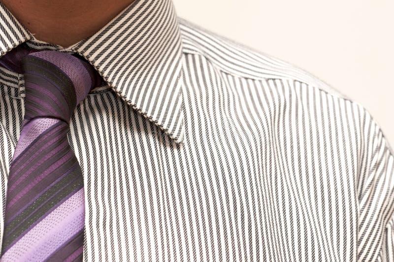 skjortatie royaltyfria bilder