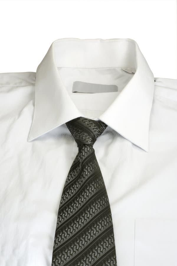 skjortawhite arkivfoto