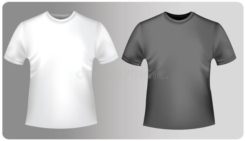 skjortor t två royaltyfri illustrationer