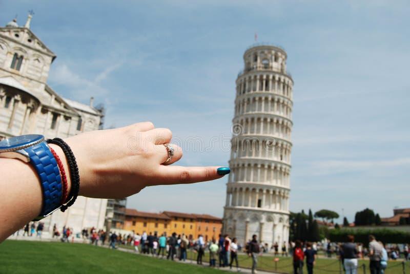 Skjut Pisaen royaltyfria bilder