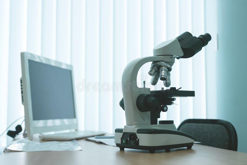 skjuten bakgrundssjukhusmedicin apotek pharmacology royaltyfria bilder