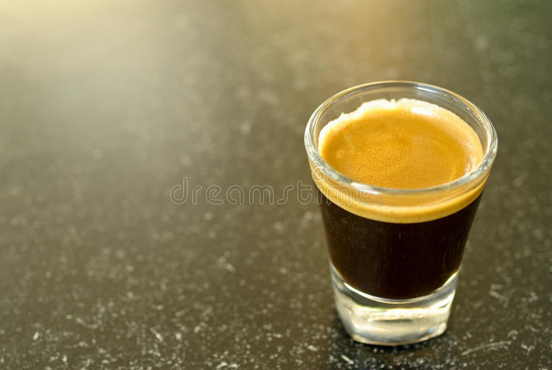 skjuten espresso royaltyfria bilder