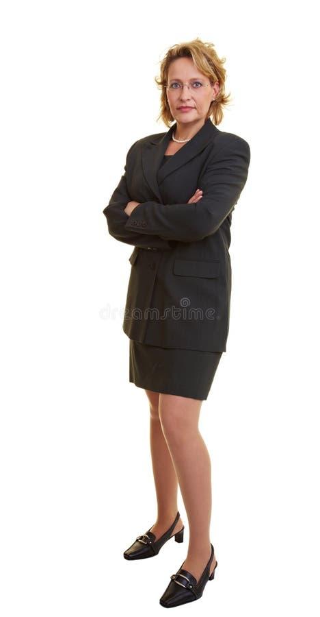 skjuten kvinna för huvuddel fullt royaltyfri bild