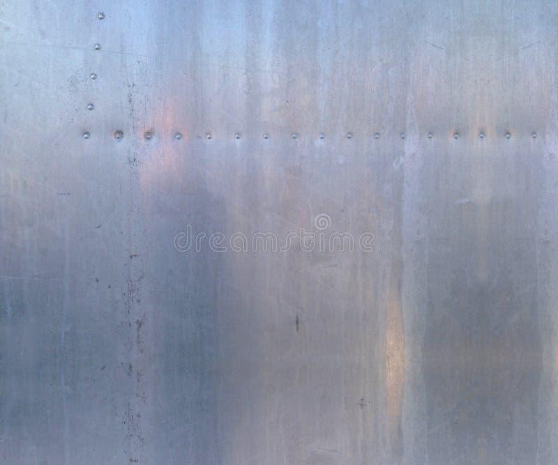 skjuten textur för aluminium close upp arkivfoton