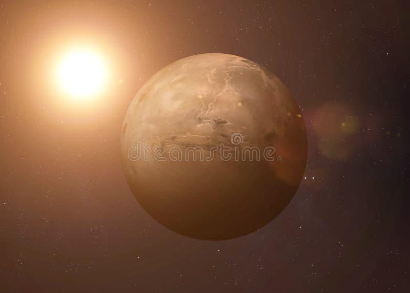 Skjutit av Mercury som tas från öppet utrymme collage royaltyfri fotografi
