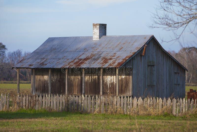 Sklavenviertel im Laurel Valley Sugar Plantation lizenzfreie stockfotos
