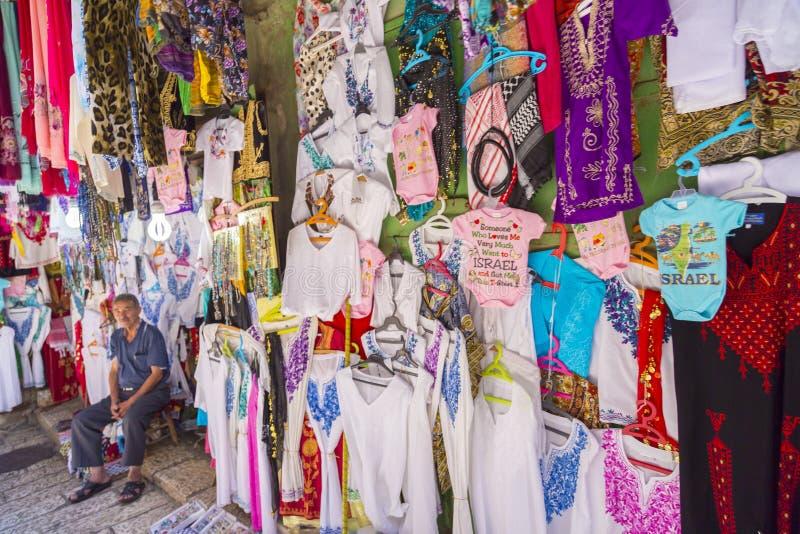 Sklep w starym mieście Jerozolima zdjęcia royalty free