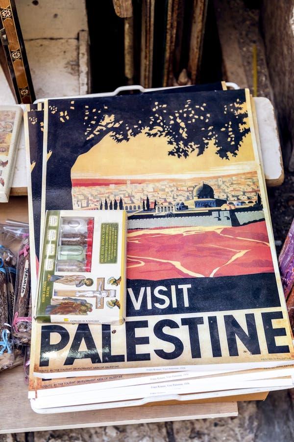 Sklep w starym mieście Jerozolima fotografia stock