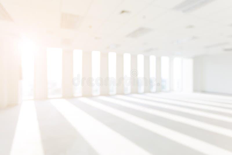 Sklep, wnętrze, biuro, abstrakcjonistyczny defocused zamazany tło zdjęcia stock