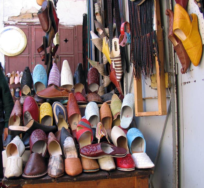 sklep z butami obrazy royalty free
