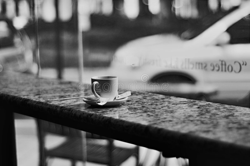 sklep z kawą obraz royalty free
