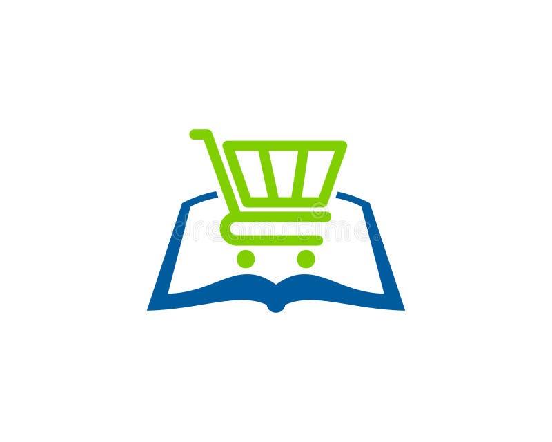 Sklepowy Książkowy logo ikony projekt ilustracji
