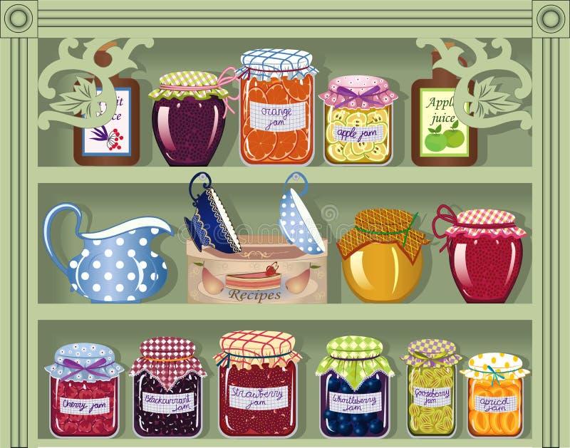 sklepu cukierki royalty ilustracja
