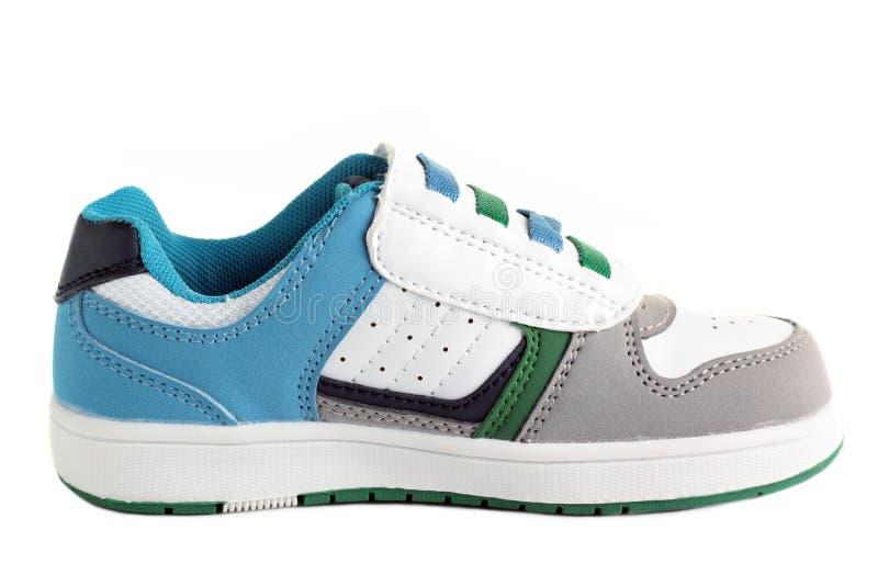 sko för barn s royaltyfri bild