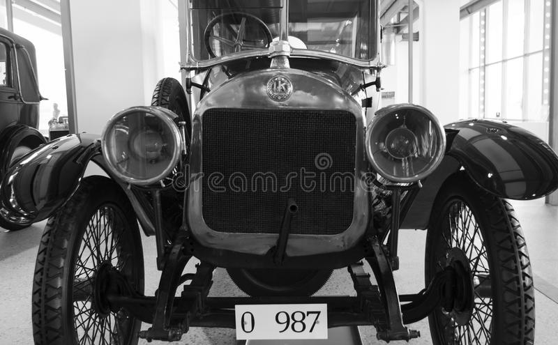 Skoda Auto Museum. In Mlada Boleslav. Automobile museum presents the history of the company Skoda Auto and it is predecessor Laurin & Klement royalty free stock image
