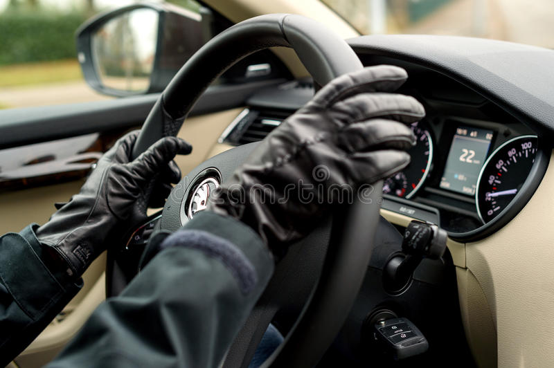 Download Skoda Driving Woman Wearing Gloves Editorial Image - Image: 83720745