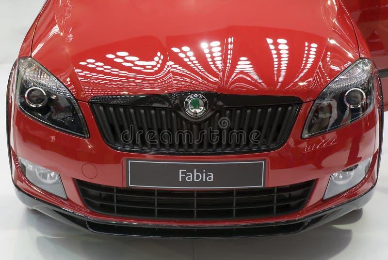 skoda fabia автомобиля стоковое фото rf