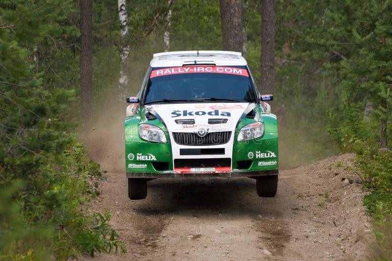 Download Skoda Fabia S2000 editorial image. Image of motor, rally - 10131785