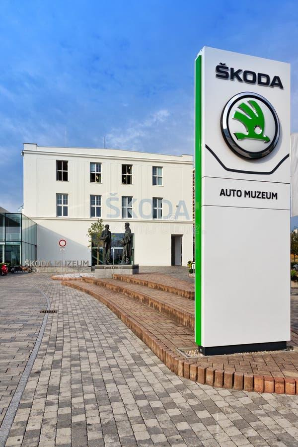 Skoda Museum, Mlada Boleslav, Czech republic. Skoda Car Museum, Mlada Boleslav, Czech republic stock photo