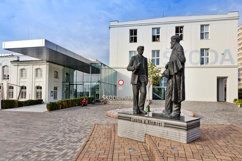 Skoda Museum, Mlada Boleslav, Czech republic. Skoda Car Museum, Mlada Boleslav, Czech republic royalty free stock image