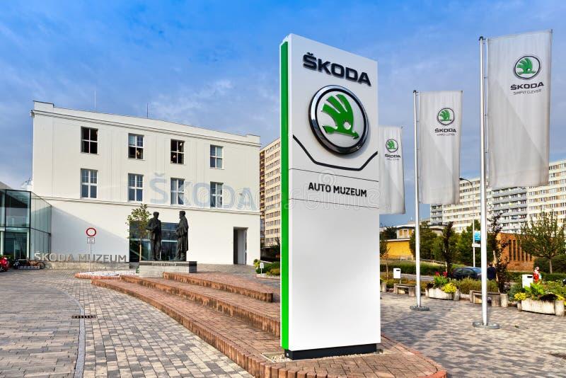 Skoda Museum, Mlada Boleslav, Czech republic. Skoda Car Museum, Mlada Boleslav, Czech republic stock photos