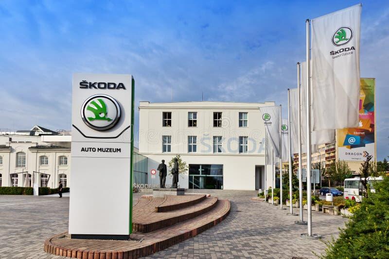 Skoda Museum, Mlada Boleslav, Czech republic. Skoda Car Museum, Mlada Boleslav, Czech republic royalty free stock photos