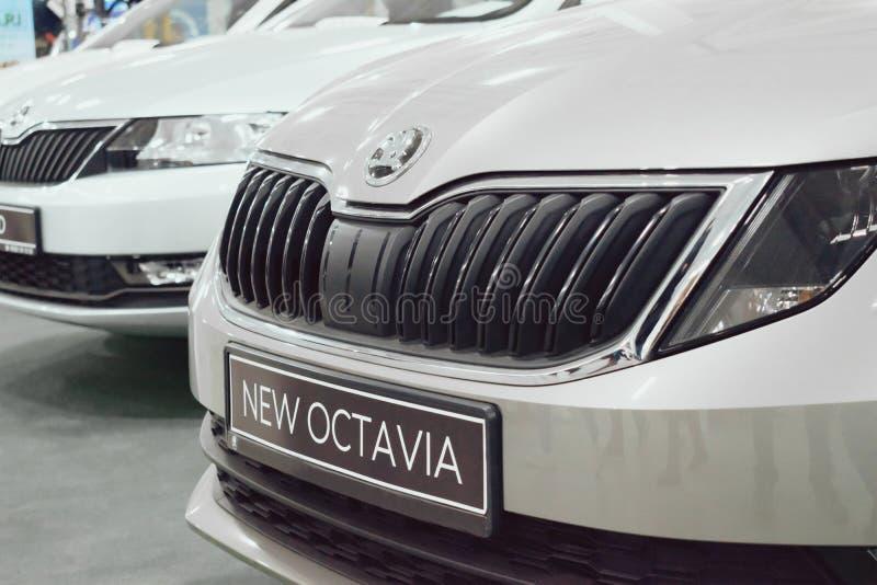 Skoda Octavia nowy samochód fotografia stock