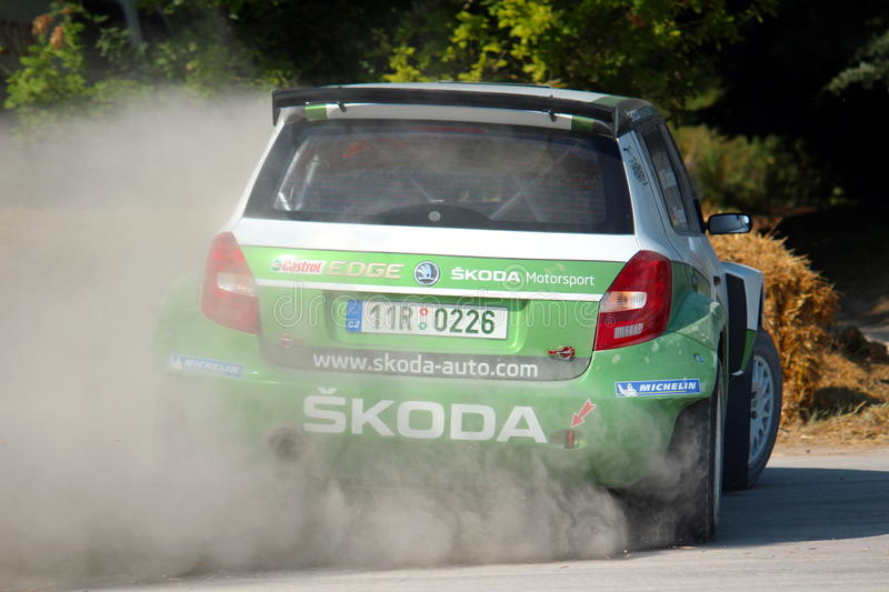 Download Skoda Rally Car editorial photo. Image of rally, goodwood - 32248346