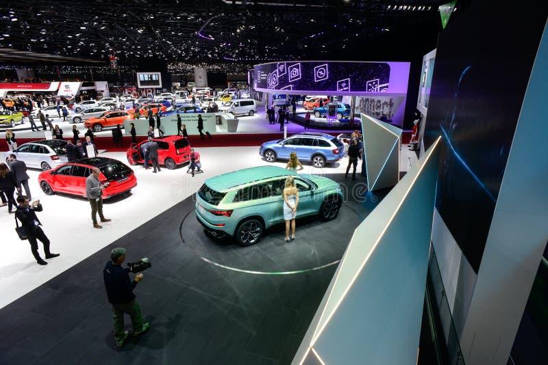 Skoda VisionS Concept Car stock image