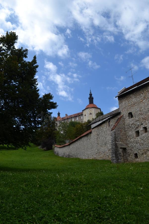 Skofja Loka, Σλοβενία στοκ εικόνες