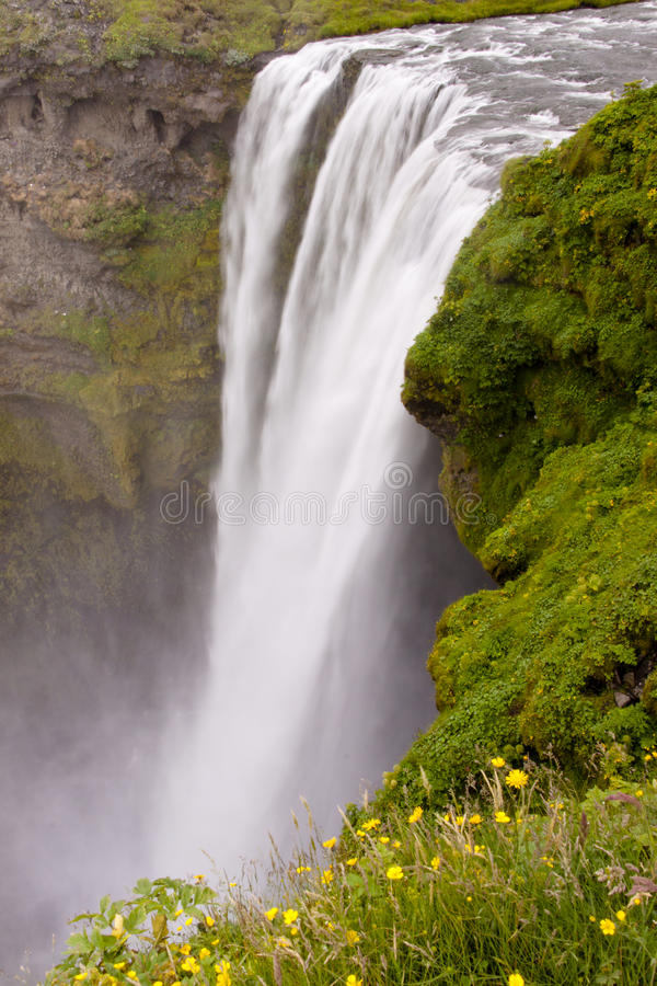 Skogafoss - Ισλανδία στοκ φωτογραφίες με δικαίωμα ελεύθερης χρήσης