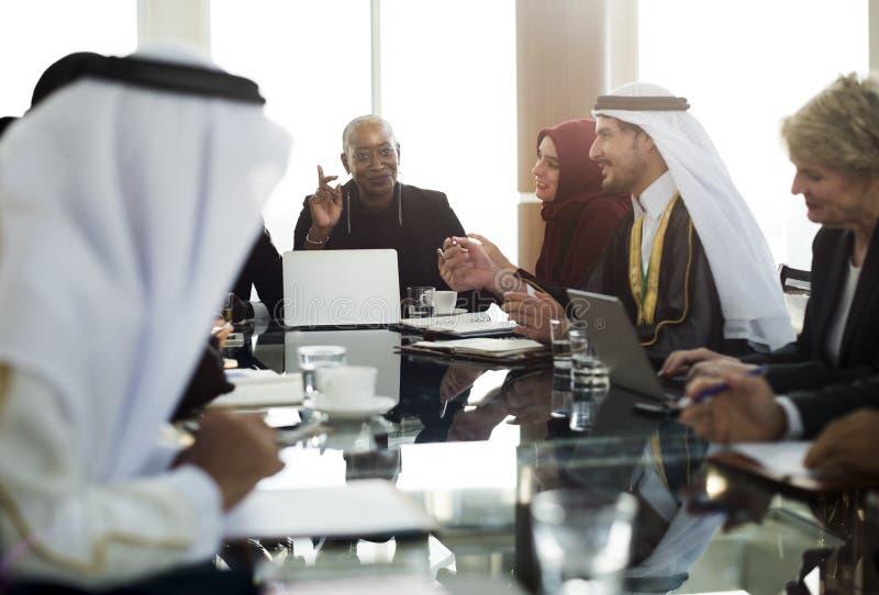 Skojarzenia Alliance spotkania konwersatorium konferencja obraz royalty free