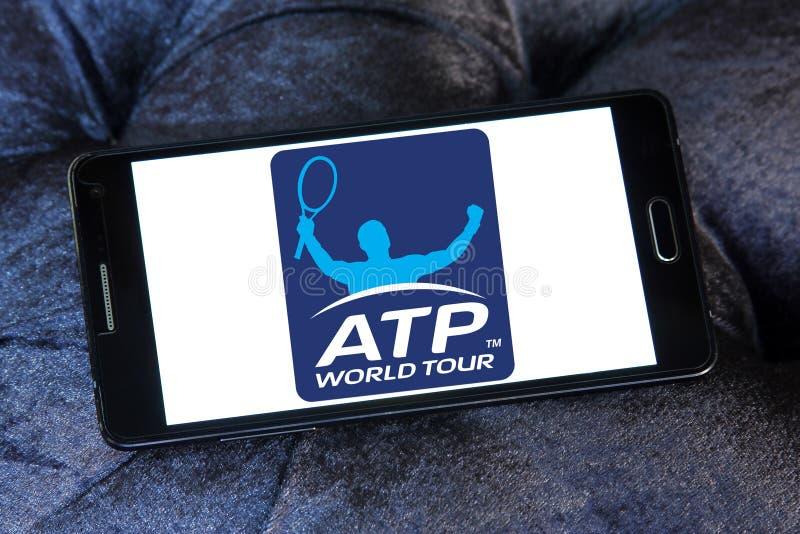 Skojarzenie Tenisowi profesjonaliści, ATP logo obraz royalty free