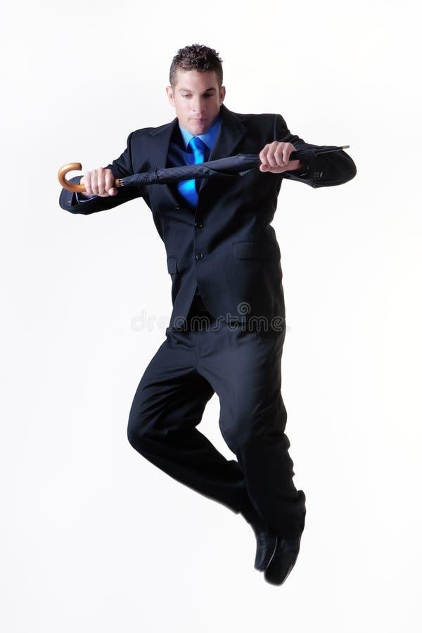 Skok dla radości zdjęcie stock