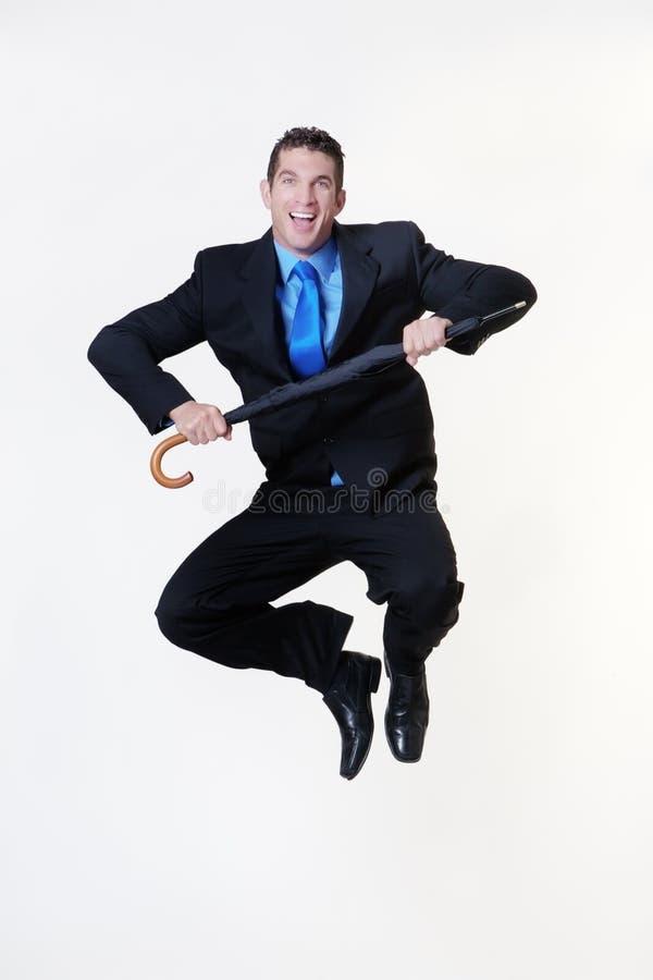Skok dla radości obraz stock