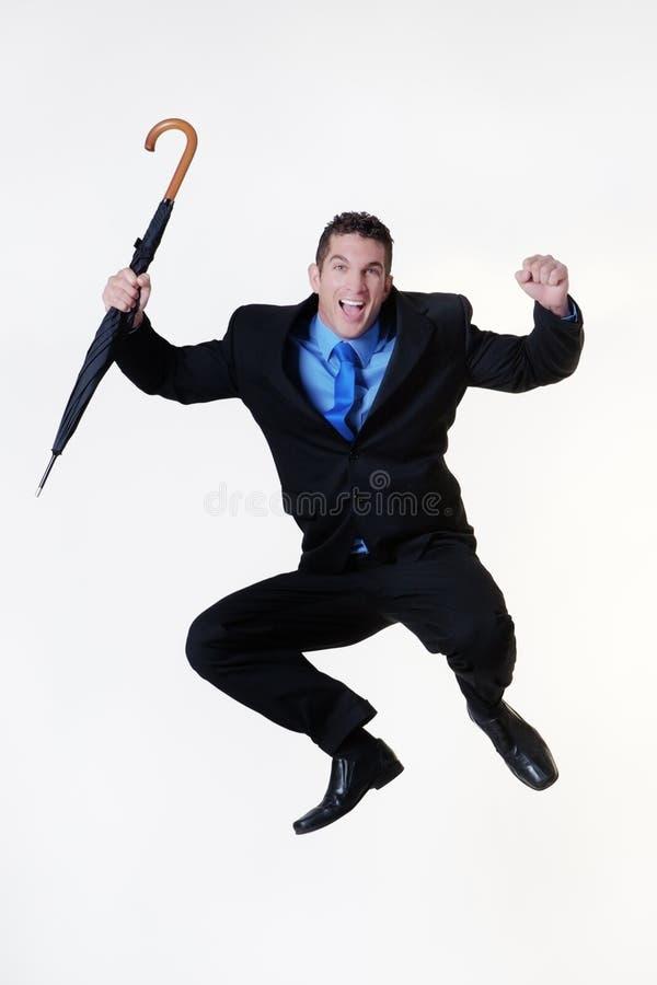 Skok dla radości fotografia stock