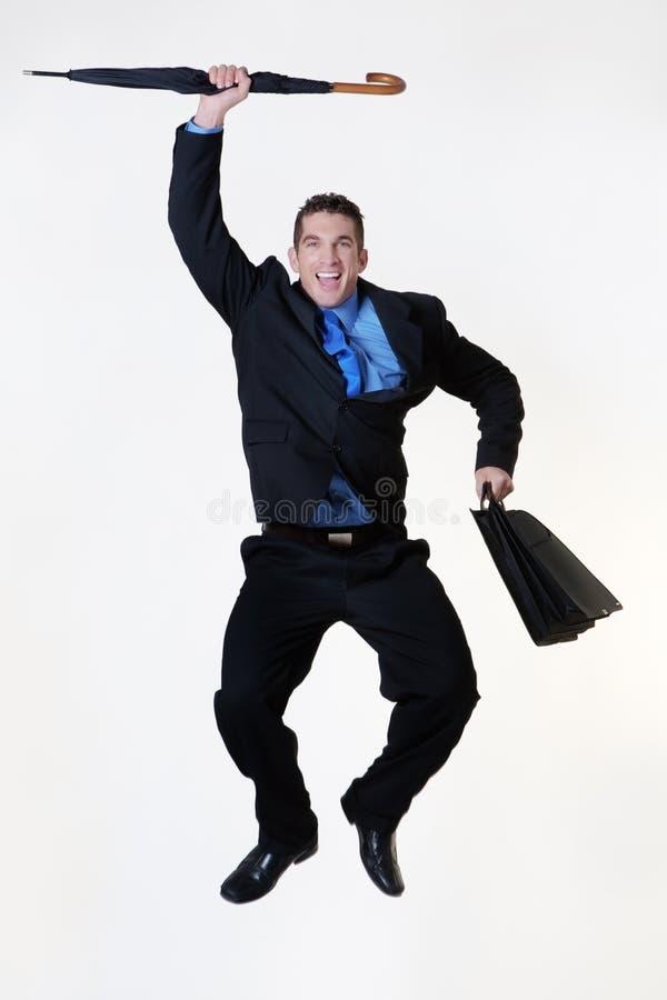 Skok dla radości zdjęcia stock