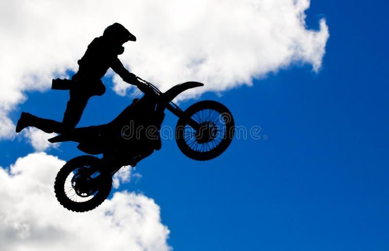skok motocross obrazy royalty free