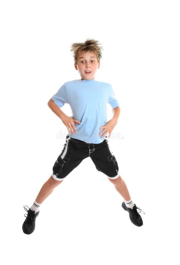 skoki fitness fotografia stock