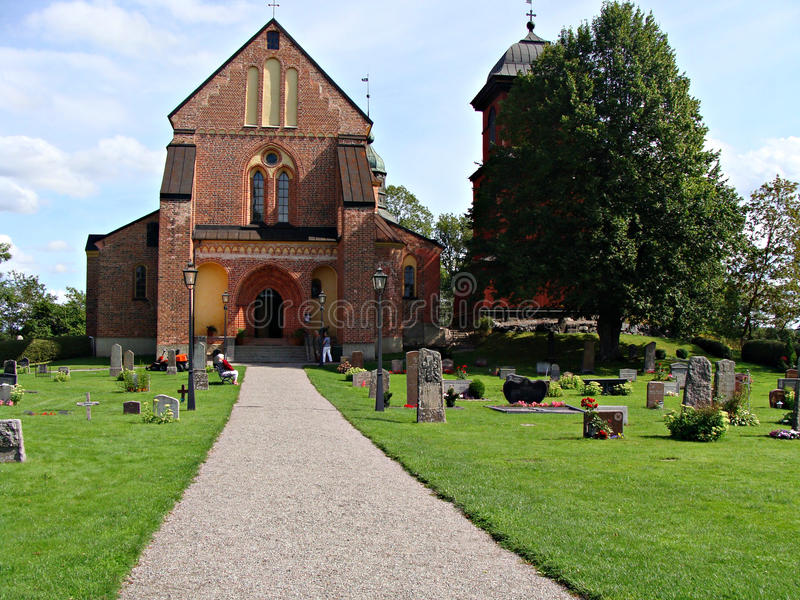 Skokloster kościół obraz stock