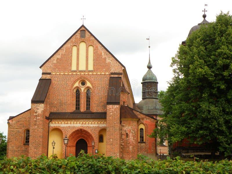 Skokloster kyrka, piękny kościół w terenie Skokloster kasztel zdjęcie royalty free