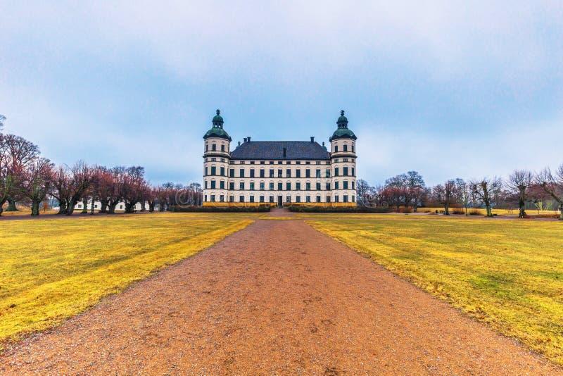 Skokloster Szwecja, Kwiecień, - 1, 2017: Skokloster pałac, Szwecja zdjęcie royalty free