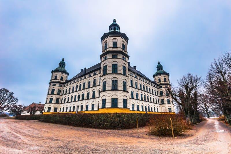 Skokloster, Zweden - April 1, 2017: Skoklosterpaleis, Zweden royalty-vrije stock afbeelding