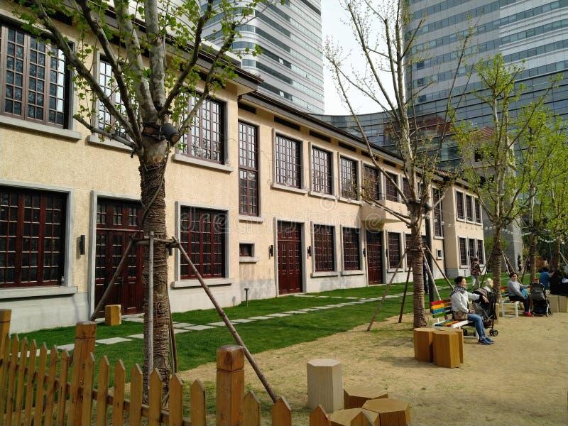 Skola av Zhang Ailing royaltyfri bild