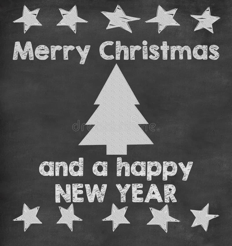 Skolabakgrund för glad jul royaltyfri illustrationer