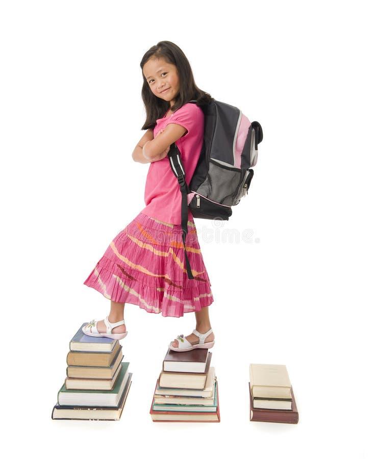 Skolaflicka arkivbild
